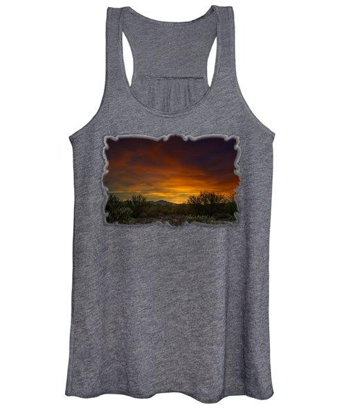Oro Valley Sunset H02 Women's Tank Top
