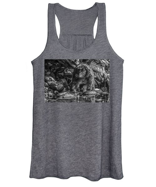 Oservant Black Bear  Women's Tank Top