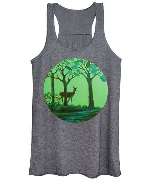 Out Of The Forest Women's Tank Top