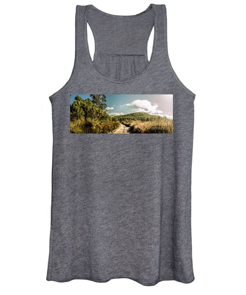Outback Country Road Panorama Women's Tank Top