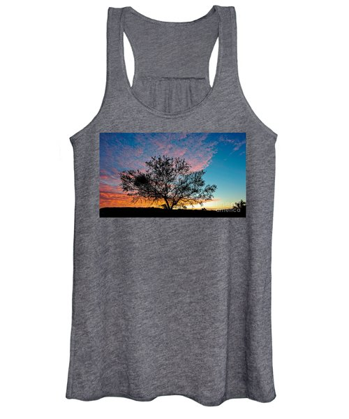 Outback Sunset Pano Women's Tank Top