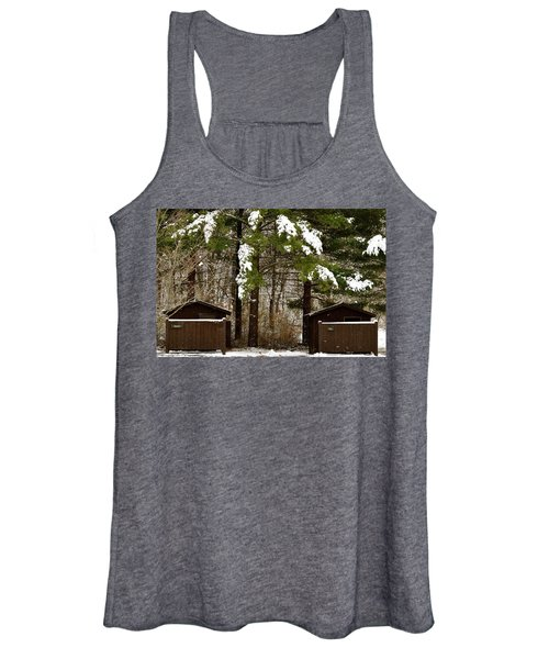 Outhouses In The Cold Women's Tank Top