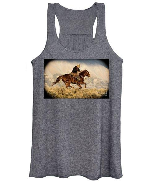 Outlaw Kelly Western Art By Kaylyn Franks Women's Tank Top