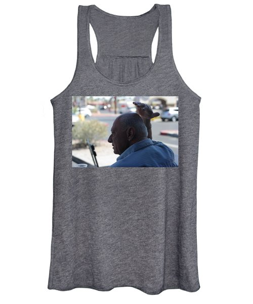 Outside The Cafe Women's Tank Top