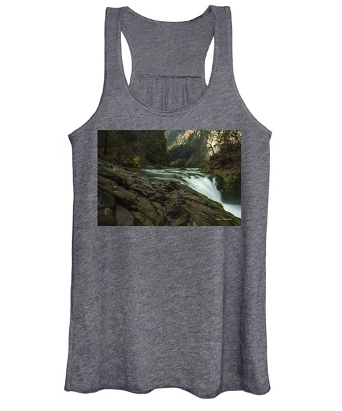 Over The Edge Signed Women's Tank Top