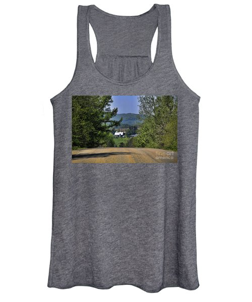 Over The Hill Women's Tank Top