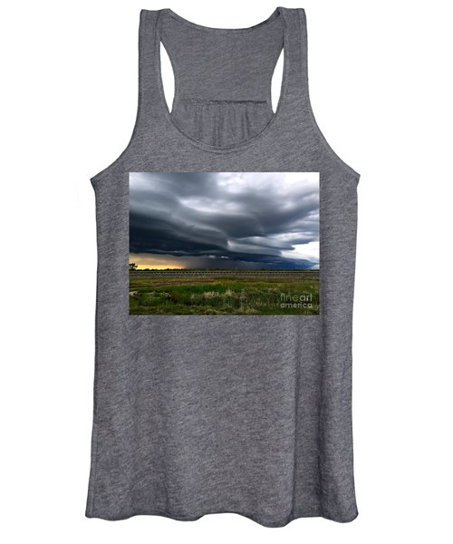 Over The Rail Women's Tank Top