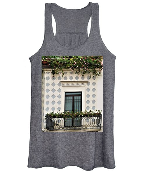 Overlooking The Piazza Women's Tank Top