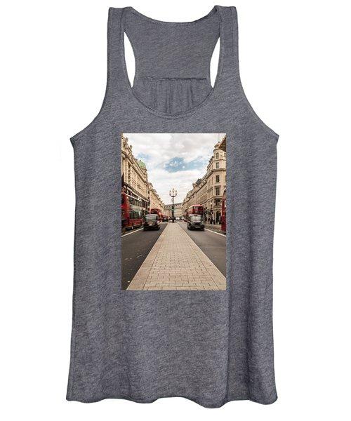 Oxford Street In London Women's Tank Top