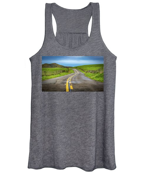 Pacific Coast Road To Tomales Bay Women's Tank Top