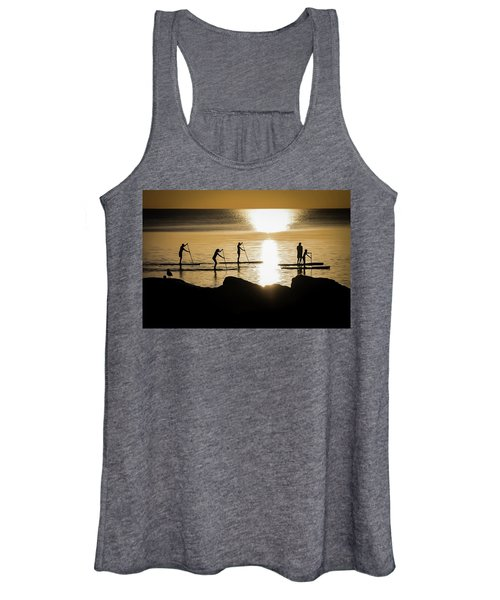 Paddle Gold Women's Tank Top