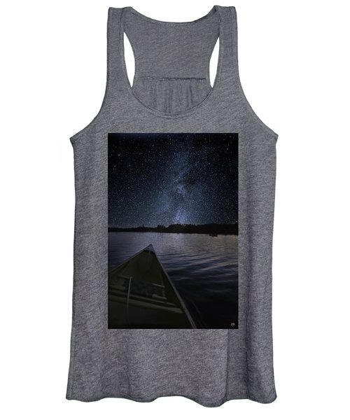 Paddling The Milky Way Women's Tank Top