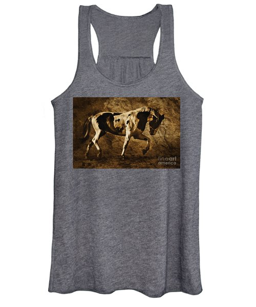 Paint Horse Women's Tank Top