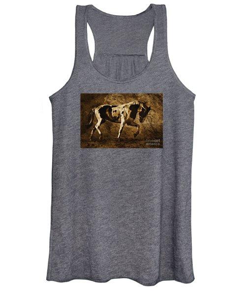 Paint Horse Women's Tank Top