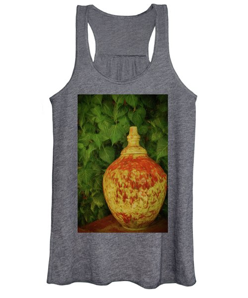 Painted Vase Women's Tank Top