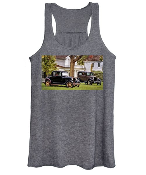 Pair Of Ford Model A  Women's Tank Top