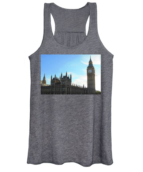 Palace Of Westminster And Big Ben Women's Tank Top