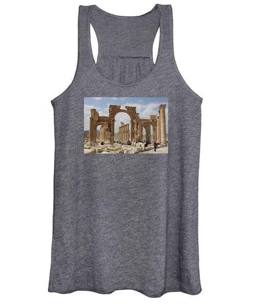 Palmyra Before...triumphal Arch Women's Tank Top