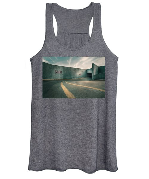 Parking Garage At The End Of The World Women's Tank Top