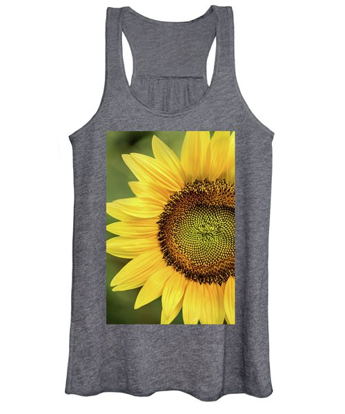 Part Of A Sunflower Women's Tank Top