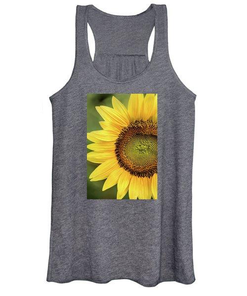 Part Of A Sunflower Women's Tank Top