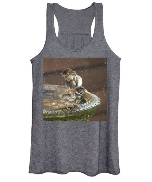Pass The Towel Please: A House Sparrow Women's Tank Top
