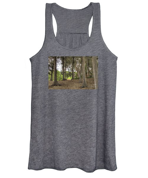 Past The Beach And Through The Trees Women's Tank Top