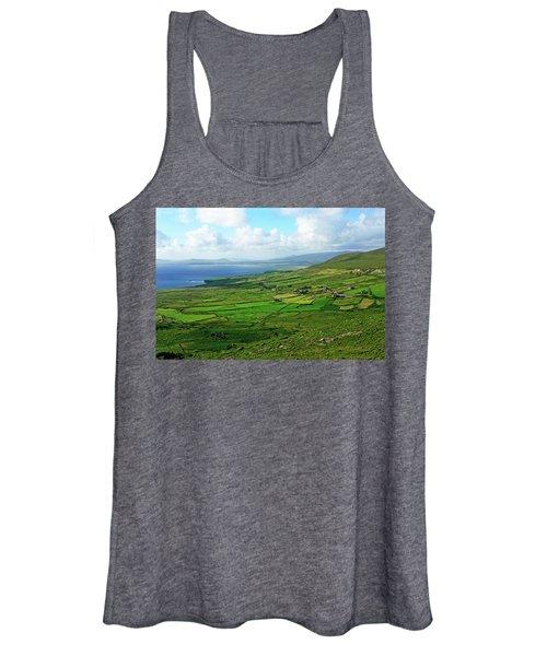 Patchwork Landscape Women's Tank Top
