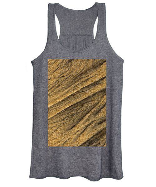 Paterns In The Sand Women's Tank Top