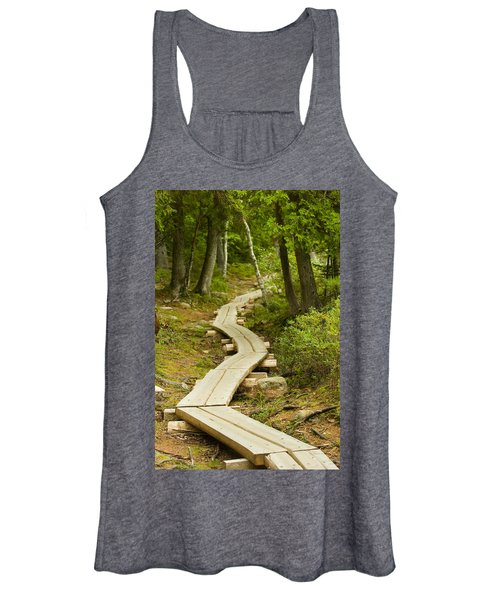 Path Into Unknown Women's Tank Top