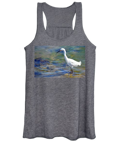 Patient Egret Women's Tank Top
