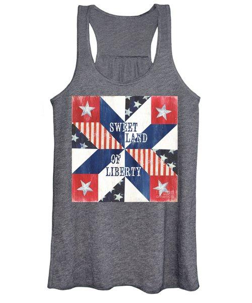Patriotic Quilt 3 Women's Tank Top