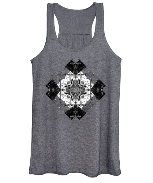 Pattern In Black White Women's Tank Top
