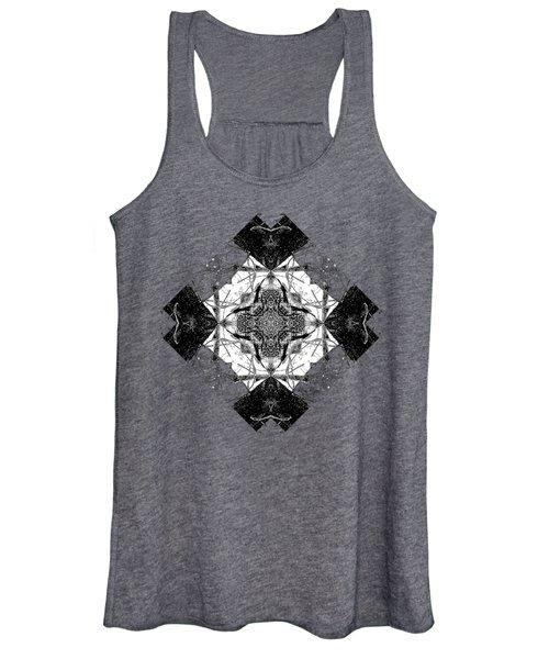 Pattern In Black White Women's Tank Top