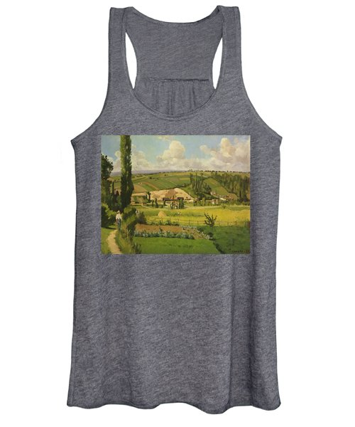 Paysage Aux Patis, Pointoise Women's Tank Top