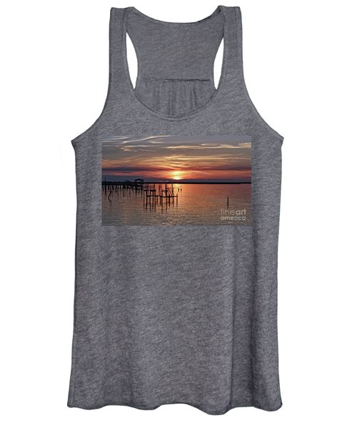 Peace Be With You Sunset Women's Tank Top