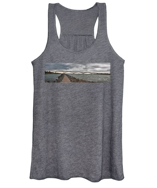 Peace Bridge Women's Tank Top