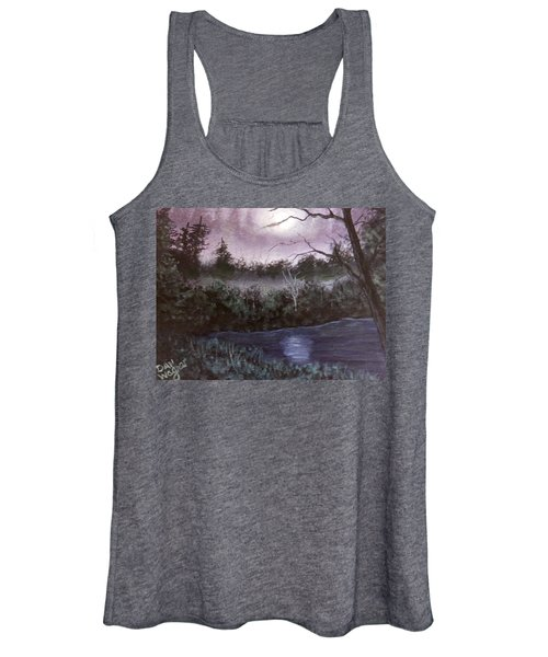 Peaceful Pond Women's Tank Top