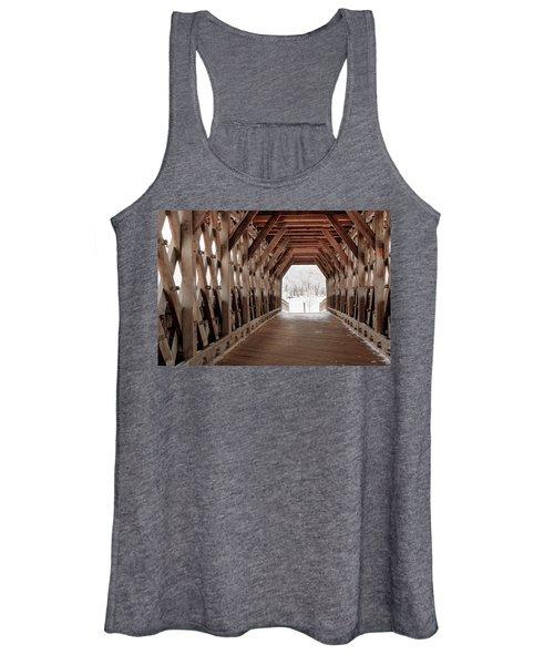 Pedestrian Lattice Bridge Women's Tank Top