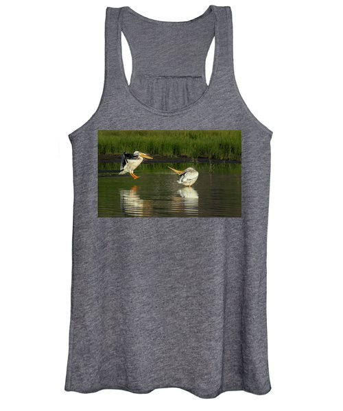Pelicans 2 Women's Tank Top