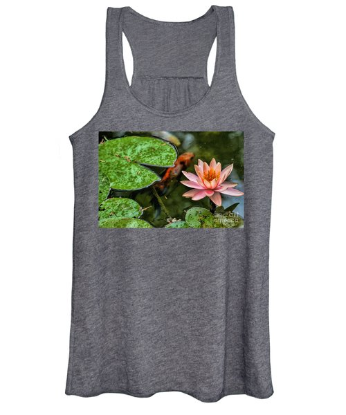 Perfect Beauty And Koi Companion Women's Tank Top