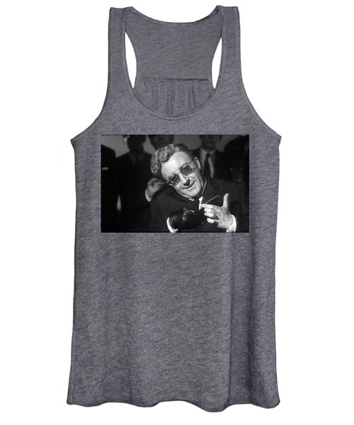 Peter Sellers As Dr. Strangelove Number One Color Added 2016 Women's Tank Top