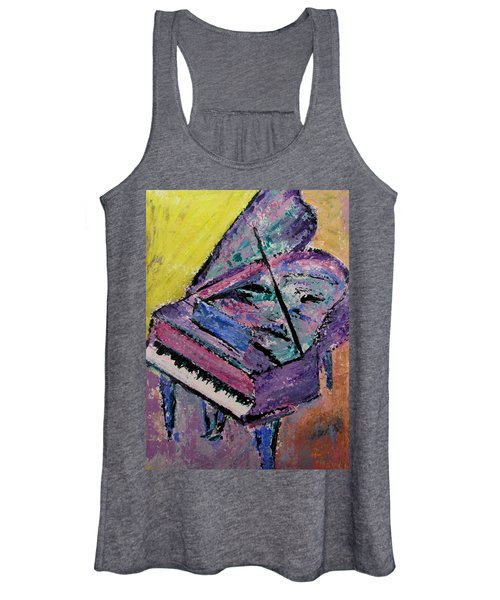 Piano Pink Women's Tank Top