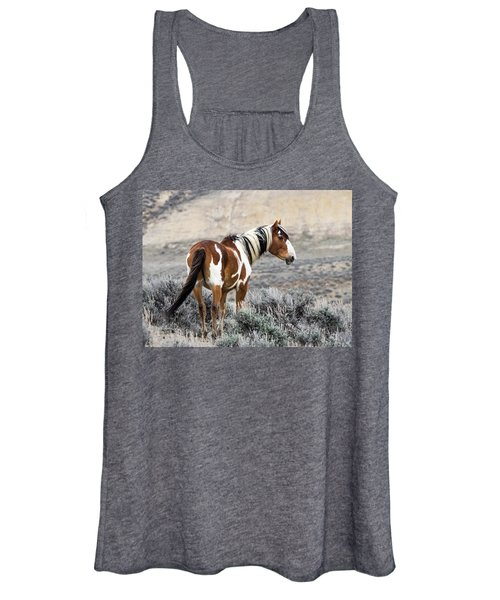 Picasso - Wild Mustang Stallion Of Sand Wash Basin Women's Tank Top
