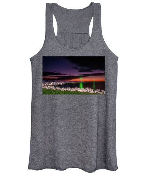 Pier And Lighthouse Women's Tank Top