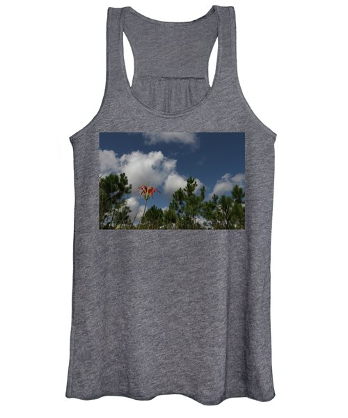 Pine Lily And Pines Women's Tank Top