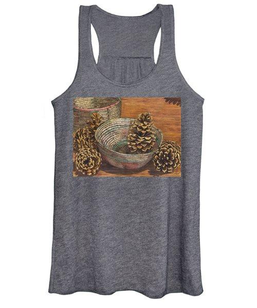 Pinecones Women's Tank Top