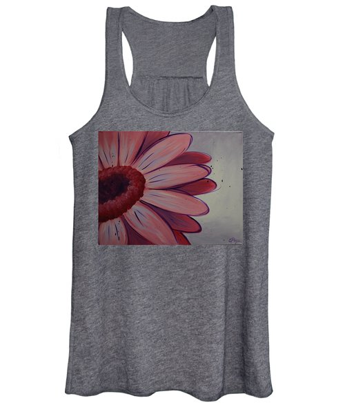 Pink Daisy Women's Tank Top