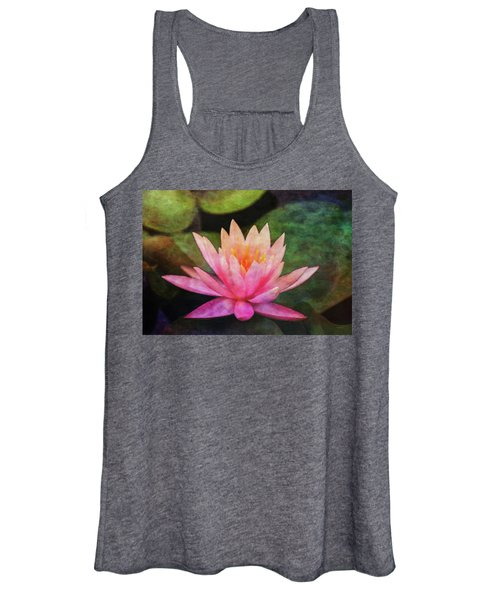 Pink Lotus 4134 Idp_2 Women's Tank Top