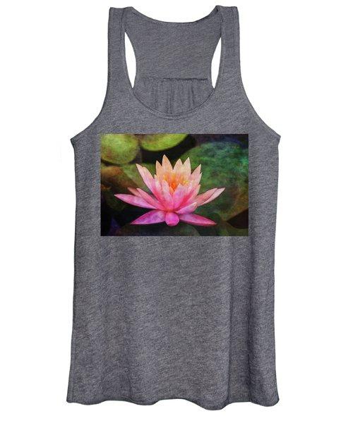 Pink Lotus 4134 Idp_2 Women's Tank Top